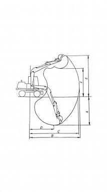 koparka samojezdna kołowa K440